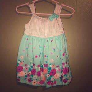 Healthtex Floral Casual Infant Girls Dress